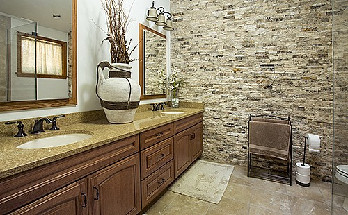 River Road Master Bathroom