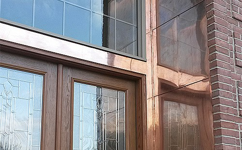 Cranberry Copper Entrance